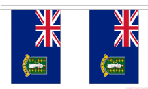 BRITISH VIRGIN ISLES BUNTING - 3 METRES 10 FLAGS